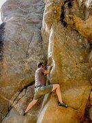 Rock Climbing Photo: Starting rest point