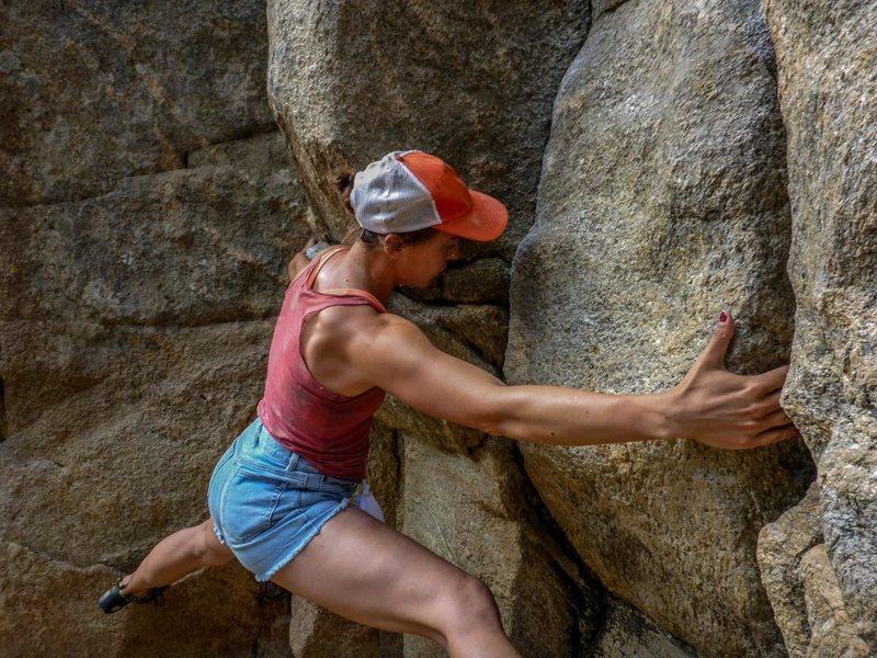 Rock Climbing Photo: Keep focused.