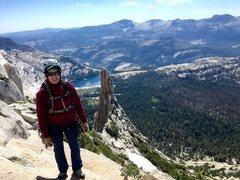 Rock Climbing Photo: Summit Cathedral Peak, Tuolumne Meadows