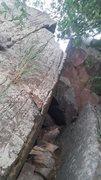 Rock Climbing Photo: Finger Bars Traverse.