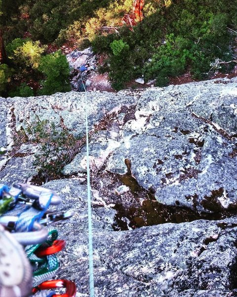 Rock Climbing Photo: The top of Pinch Me, I Must be Dreaming