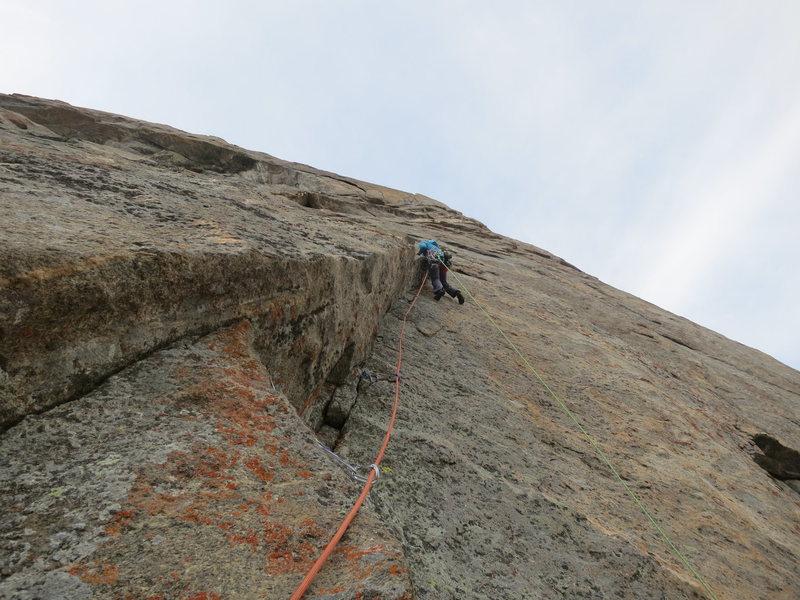 Rock Climbing Photo: Inge Perkins on P5