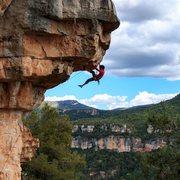 Rock Climbing Photo: Puerto Hurraco 7a+