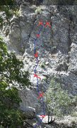 Rock Climbing Photo: Upper half