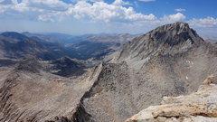 Rock Climbing Photo: view toward 13322 and Darwin