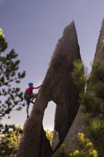Rock Climbing Photo: Gossamer