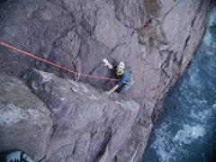 "Rock Climbing Photo: Seb on ""Son of Zombie Mummers"""