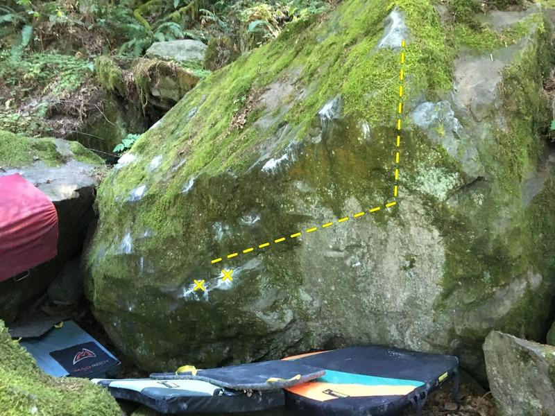 Rock Climbing Photo: Emil Muzz start.