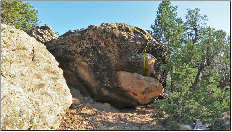 Rock Climbing Photo: Observable Curse.