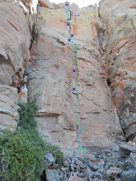 Rock Climbing Photo: Sonic Bat Tsaheylu Topo.
