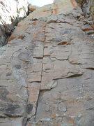 Rock Climbing Photo: Sonic Bat Tsaheylu starts easy on casual 8 moves a...