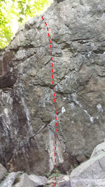 Rock Climbing Photo: Bob la couette 5.13a
