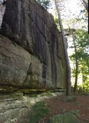 Rock Climbing Photo: Gorgeous streaked wall. Most solid looking rock I ...