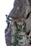 Rock Climbing Photo: at the third clip