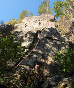 Rock Climbing Photo: Banana Hammock and Mean Mug