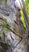 Rock Climbing Photo: Name unknown I Name unknown II