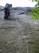 Rock Climbing Photo: Continuing up B-Day Boy