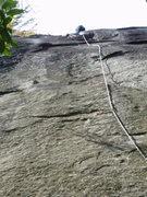 Rock Climbing Photo: At the anchor  B-Day Boy
