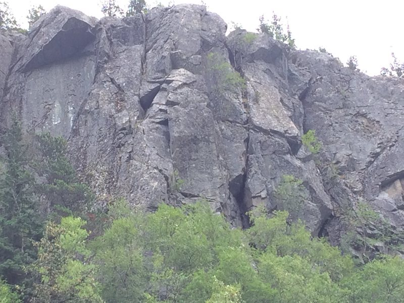 Rock Climbing Photo: goldmine
