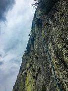 Rock Climbing Photo: Justin S. On Zeno's Paradox.