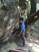Rock Climbing Photo: Hard send