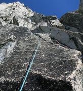Rock Climbing Photo: ~100' into P2