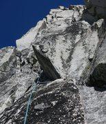 Rock Climbing Photo: ~120' into P2.  cascadeclimbers.com/forum/ubbt...