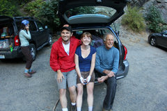 Rock Climbing Photo: Chillin with Fred Beckey after climbing Midway on ...