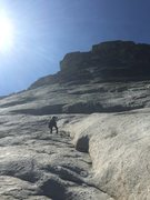 Rock Climbing Photo: Looking for the start. The first bolt is up and le...