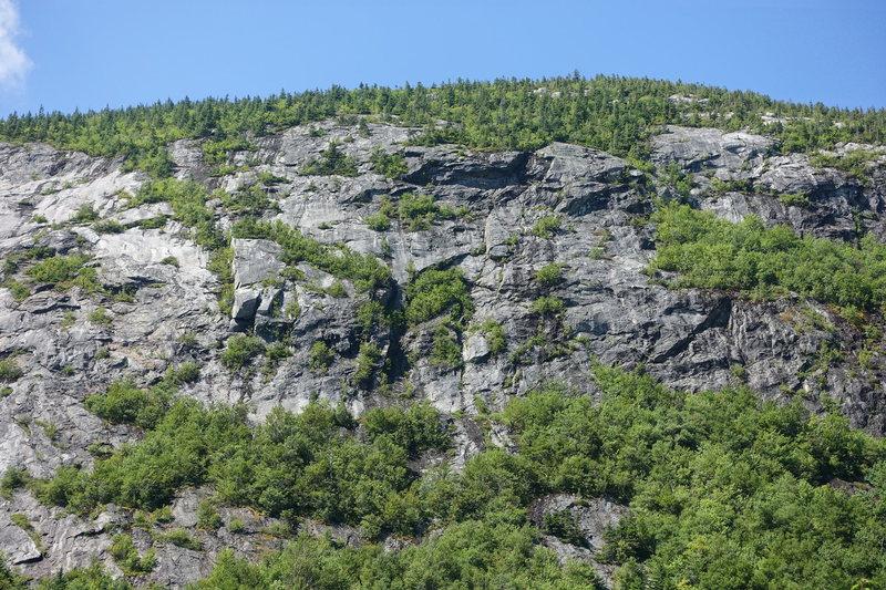 Rock Climbing Photo: Main Slab area - Right