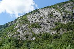 Rock Climbing Photo: Main Slab area - Left