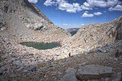 Rock Climbing Photo: A view of the extensive boulder field taken during...