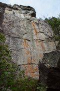 Rock Climbing Photo: Crane Lake Wall