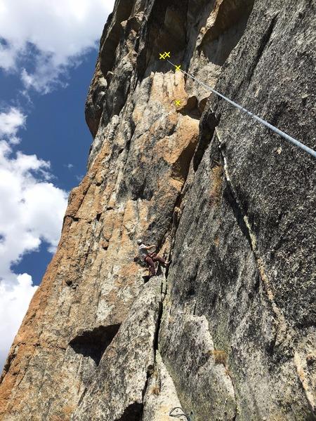 Rock Climbing Photo: Robert on Stemulant