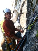 Rock Climbing Photo: Chill'n at the belay, The Chief, Dihedrals, Eu...