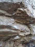 Rock Climbing Photo: Start on small crimps
