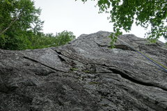 Rock Climbing Photo: The Arete (up left) but hard to tell from this ang...