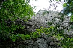 Rock Climbing Photo: The original start of the Arete.
