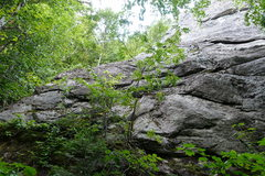 Rock Climbing Photo: The original start is on the left of the picture a...