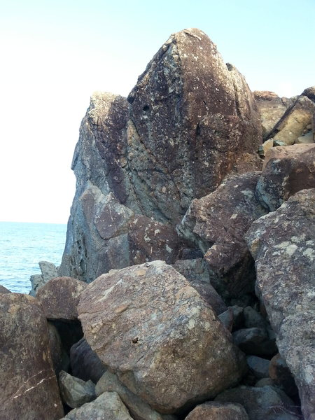 Diving for pearls 5.11c