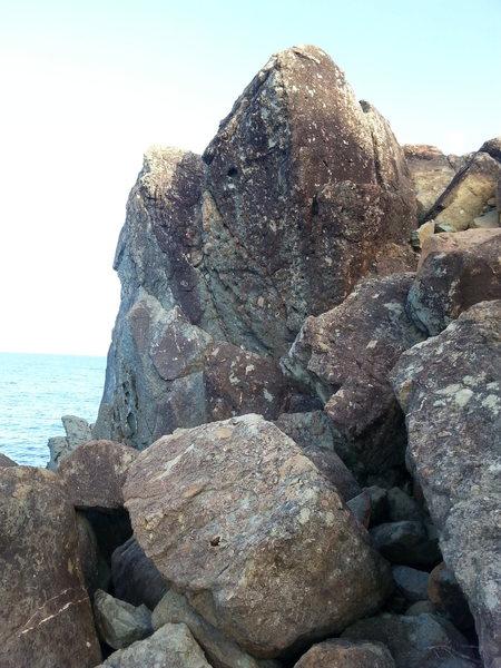 Rock Climbing Photo: Ocean horse boulders