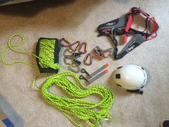 ALPINE-UP BELAY DEVICE <br />