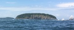 South Face of Bald Porcupine <br />-Low quality from a phone far away at this point.