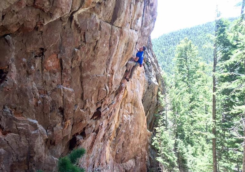 Getting into the crux.