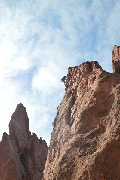 Rock Climbing Photo: Potholes - Garden of the Gods