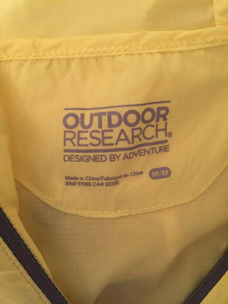 Rock Climbing Photo: OR Tantrum Hooded Jacket: Size Medium