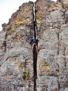 Rock Climbing Photo: Descent Chimney