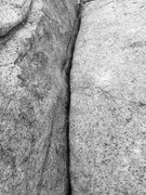 Rock Climbing Photo: B&W back woods Spliittteerrrrr!!!!!