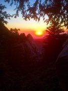 Rock Climbing Photo: Tahquitz sailors delight!!!
