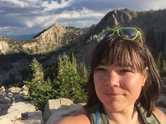 Rock Climbing Photo: Summit of Mount Tuscrarora in Big Cottonwood
